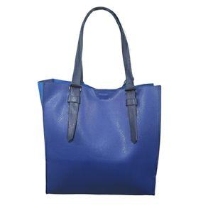 REED Krakoff Color Block Blue Tote Bag